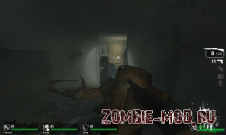 Left 4 Dead Head Crab Zombies